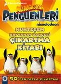 Madagaskar Penguenleri - Muhteşem Hayvanat Bahçesi Çıkartma Kitabı
