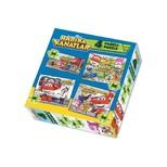 Harika Kanatlar Puzzle 24-36-48-60 Parça 4 Lü Kutu Puzzle 011600Deg83488