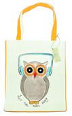 OrganiCraft The OWL Canvas Tote Bag OC00110