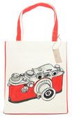 OrganiCraft Red Lecia Canvas Tote Bag OC00117