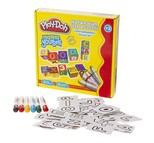 Play-Doh Puzzle Küp 6 Twıst Crayon 12 Parça Play-YB002