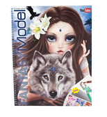 Topmodel Fantasy Boyama Kitabi 8059