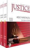 Justice - Adli Hakimlik Çalışma Kitabı - 2 Kitap Takım