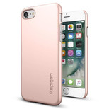 Spigen iphone 7  Kilif Thin Fit Ultra Ince Rose Gold 042CS20429