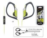 Panasonic RP-HS34ME-Y Spor Klips Mikrofonlu Kulakiçi Kulaklık Sarı