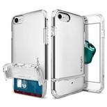 Spigen iPhone 7/8 Kılıf Flip Armor - Satin Silver