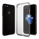 Spigen iPhone 7 Kılıf, Liquid Crystal 4 Tarafı Tam Koruma Space Crystal