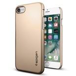 Spigen iPhone 7 Kılıf Thin Fit Ultra İnce - Champagne Gold