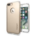 Spigen iPhone 7 Plus Kılıf Hybrid armor - Champagne Gold