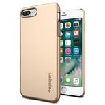Spigen iPhone 7 Plus Kılıf Thin Fit Ultra ince - Champagne Gold