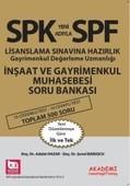SPF İnşaat ve Gayrimenkul Muhasebesi Soru Bankası