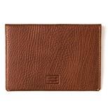 Leather & Paper Kahve Deri Pasaport Kılıfı