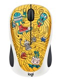 Logitech M238 Doodle Koleksiyon Kablosuz Mouse -  Go-Go Gold