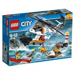 Lego-City Heavy Duty Rescue Helicopter (60166)