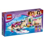 Lego-Friends Andreas Speed Boat Transporter (41316)