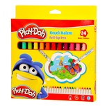 Play-Doh Keçeli Kalem 24 Renk 5Mm
