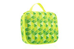 Zipit Colorz Lunch Box Green Triangles