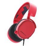 SteelSeries Arctis 3 7.1 Kırmızı Oyuncu Kulaklığı