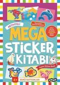 Deniz Hayvanları-Mega Sticker Kitabı