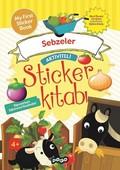 Sebzeler-Aktiviteli Sticker Kitabı