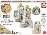 Educa-Tower Bridge 3D Puzzle W/16999