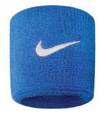 Nike Baş Bandı Bileklik Mavi/Beyaz