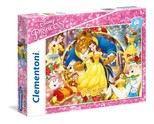Clementoni-Disney Prenses 60 Parça Puzzle 26966