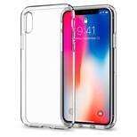 Spigen iPhone X Kılıf Liquid Crystal 4 Tarafı Kapalı Crystal Clear - Şeffaf