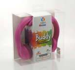 YZSY 1079 4Kids Buddy Çocuk Kulaküstü Kulaklık, Pembe