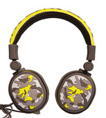 YZSY 1110 Wired Kulaküstü Kulaklık Art.Edt.Camou.Yellow