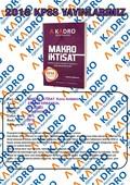 2018 KPSS Makro İktisat Konu Anlatımı