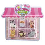 Innobees Silgi Pet Shop 6Lı Set