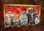 Art Puzzle - Gece Avcıları (4375) 1000 Parça