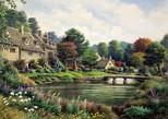 Art Puzzle - Dağ Köyü (4572) 2000 Parça