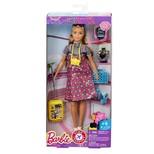Barbie Bebek Tatile Çıkıyor Oyun Seti (FNY29)