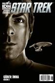 Star Trek Sayı 6 Kapak B-Çizgi Roman Dergisi