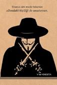 V for Vendetta Kraft Defter - Aylak Adam Hobi