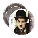 Charlie Chaplin Rozet - Aylak Adam Hobi