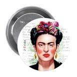 Frida Kahlo 1 Rozet - Aylak Adam Hobi