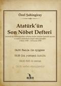 Atatürk'ün Son Nöbet Defteri