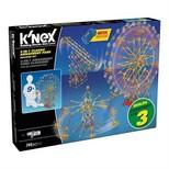 K'nex-3In1 Cl.Amusement Park Set Motorlu