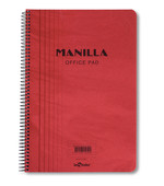 Lecolor Manila Notebook Çizgili Spr