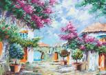 K.Color-Puz.1000 Akdeniz Bahçeleri 68x48