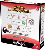 Anatolian-Tombala İngilizce Öğrenelim 80 Parça