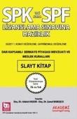 SPK-SPF Dar Kapsamlı Sermaye Piyasası Mevzuatı ve Meslek Kuralları Slayt Kitap