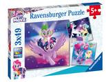 Ravensburger-My Little Pony 3x49 Parça Puzzle 80274