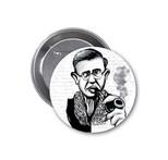 Aylak Adam Hobi-Jean-Paul Sartre Karikatür Rozet