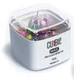 Mas Cubbie -Renkli Başlı Toplu İğne