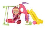 Masha-Bebek Oyun Parklı Aksesuarlı Set 12Cm.