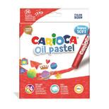 Carioca Yağlı Pastel Boya Kalemi 24Lü